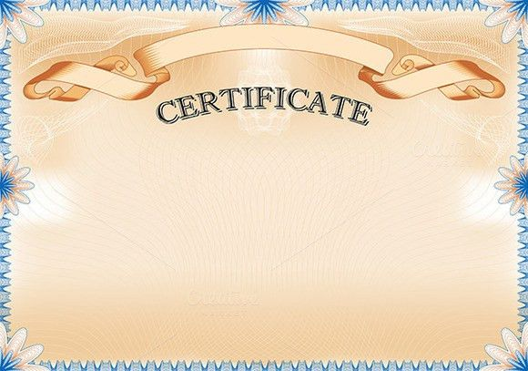 Vintage Certificate with ribbon by AK Design on Creative Market ...