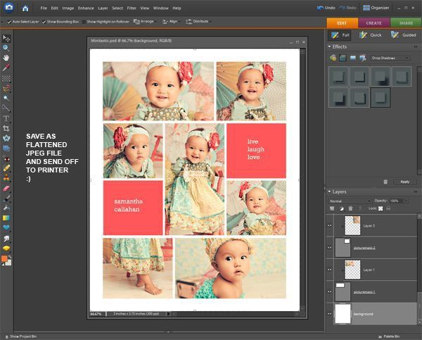 28 best Free Collage Templates images on Pinterest | Free collage ...