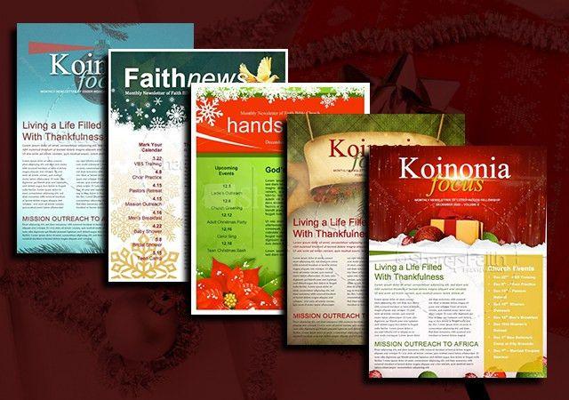 5 Free Christmas Newsletter Templates for Church - Sharefaith Magazine