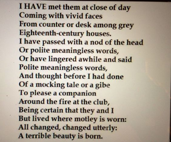 Poetic essay examples