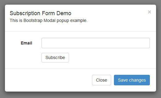 Web Designer Philippines | Caleb Serna | Bootstrap Modal Email ...