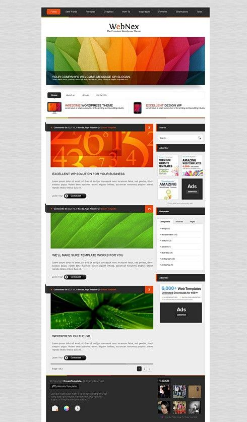 AlumniPress - HTML Template - Web Blog - Corporate - CSS Templates ...