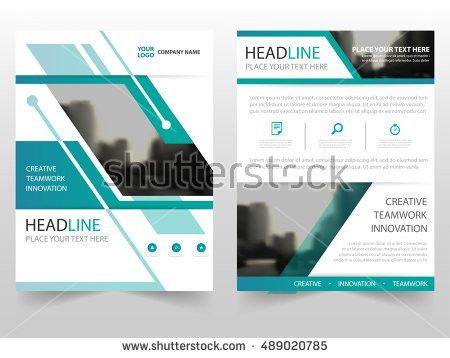 Annual Report Brochure Flyer Design Template Stock Vector ...
