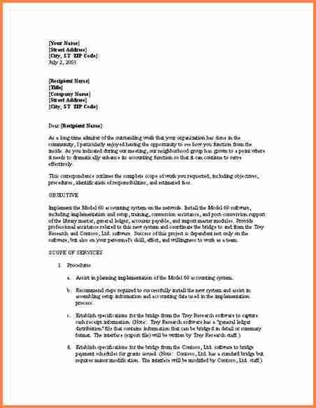 3+ informal business proposal letter examples | Project Proposal