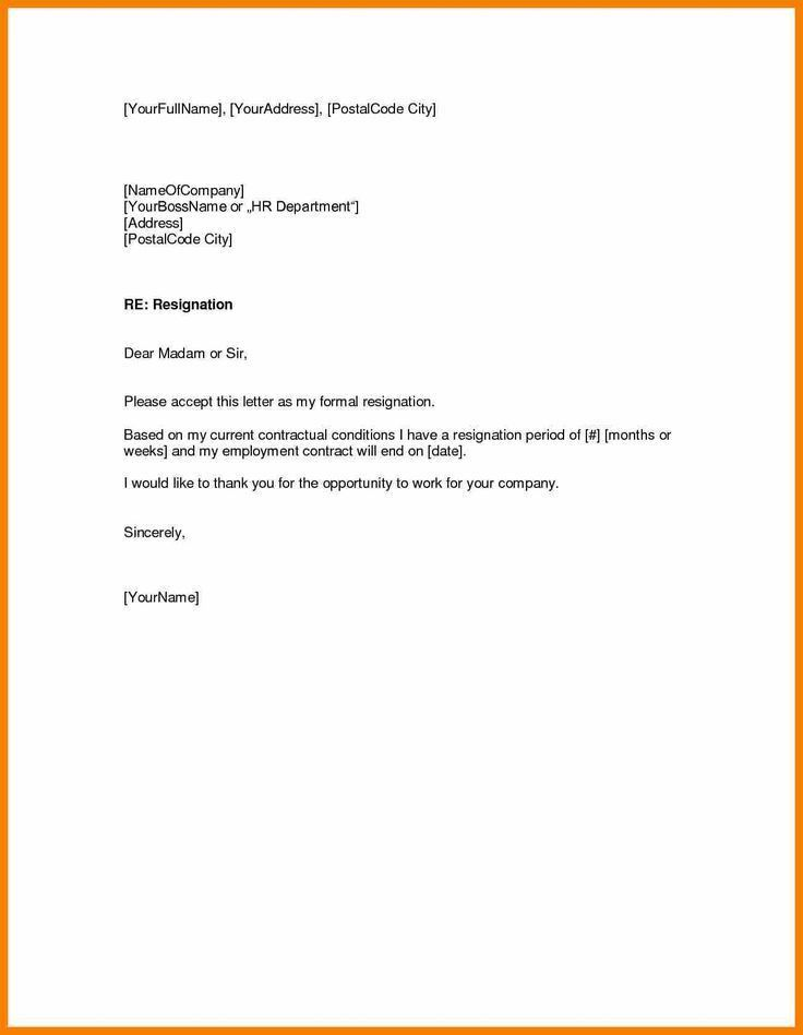 Best 25+ Short resignation letter ideas on Pinterest | Resignation ...