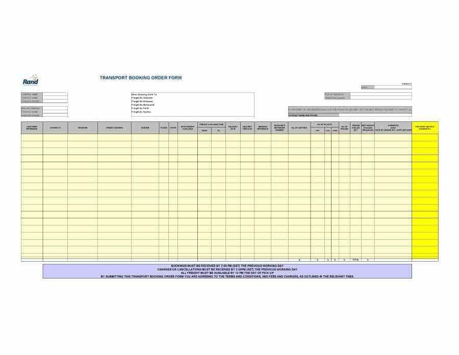 40+ Order Form Templates [work order / change order + MORE]