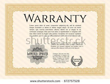 Vector Vintage Gift Certificate Template Set Stock Vector ...