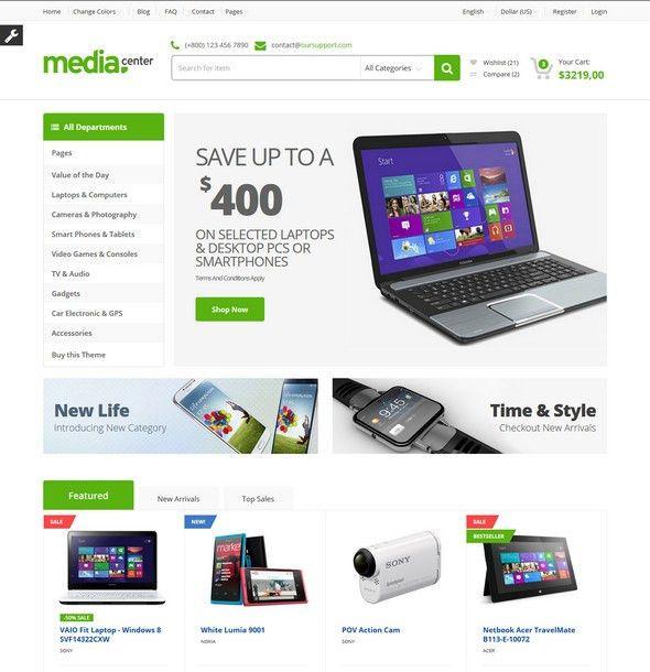 25 Best Html Ecommerce Website Templates (Free, Premium)