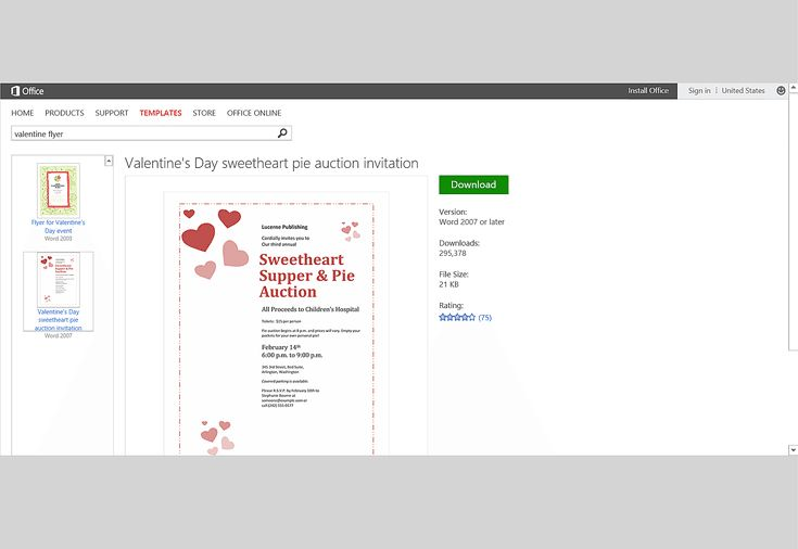 Share the Love: MS Office Templates and Printables for Valentine's Day