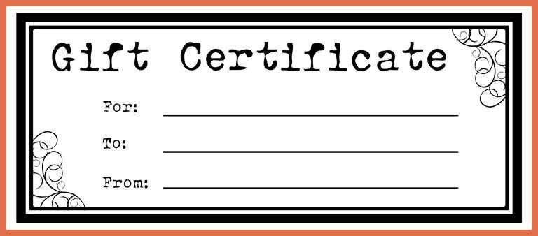 free gift certificate template | bio example