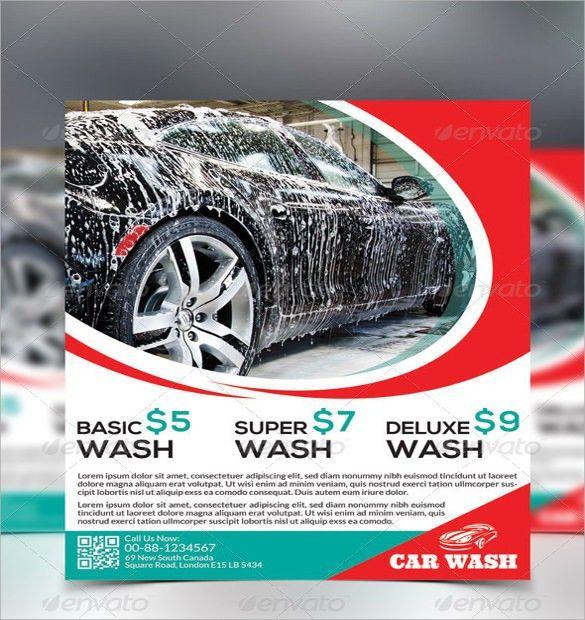 10+ Car Wash Flyers - PSD, Vector EPS