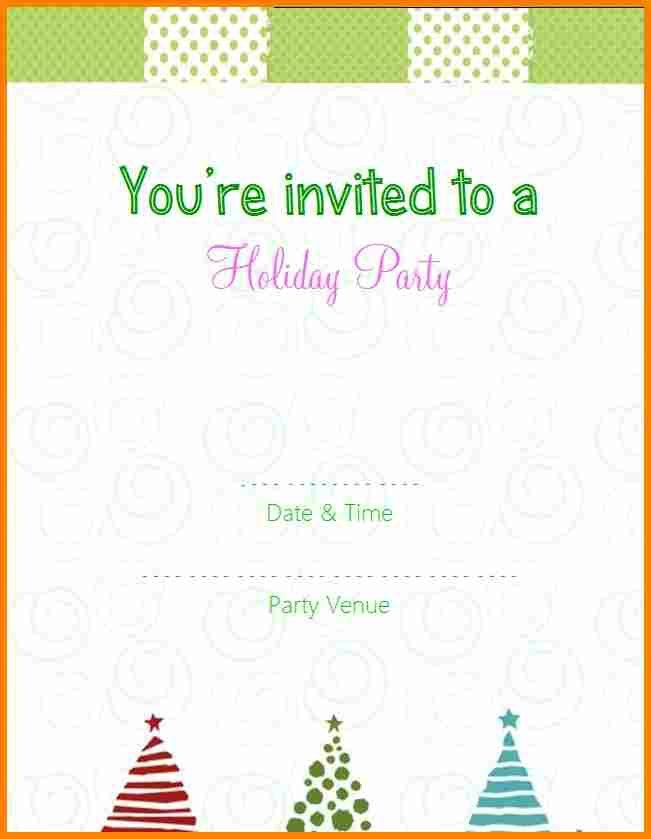 9+ free printable christmas party invitations templates | budget ...