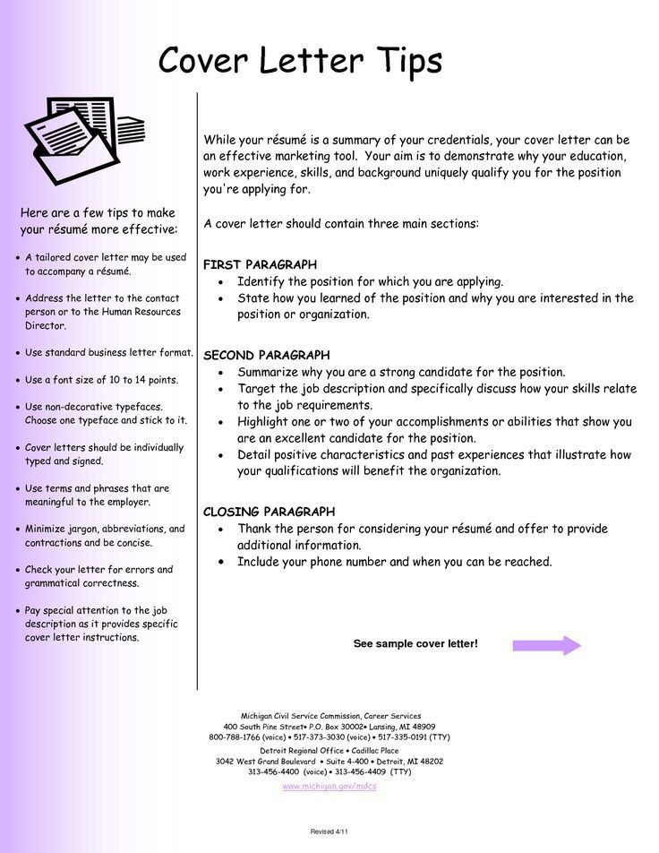 100+ Model Of Cover Letter For Resume | Cover Letter Examples ...