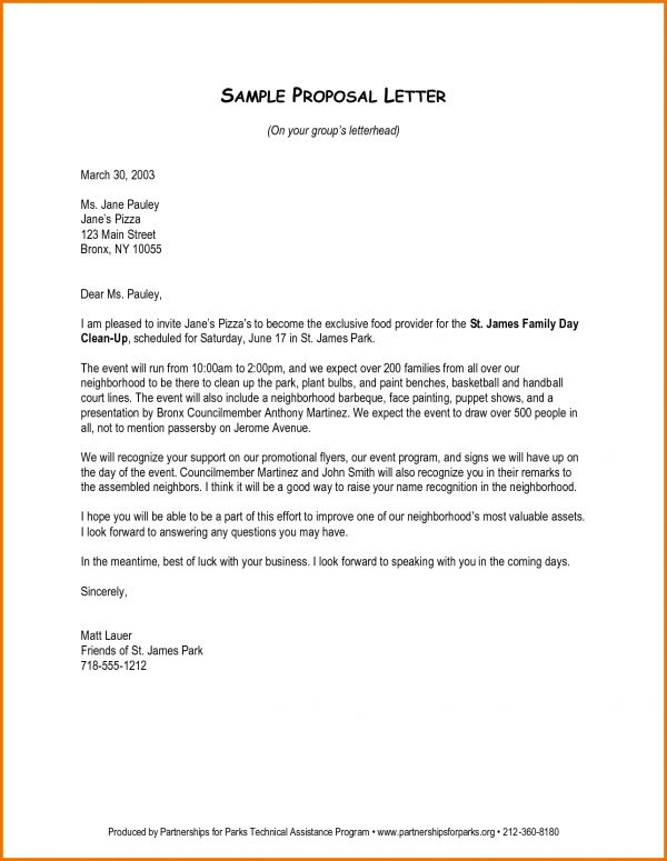 Example Of Proposal Letter.3611227.png | Scope Of Work Template