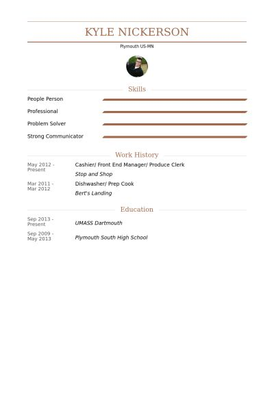 Produce Clerk Resume samples - VisualCV resume samples database
