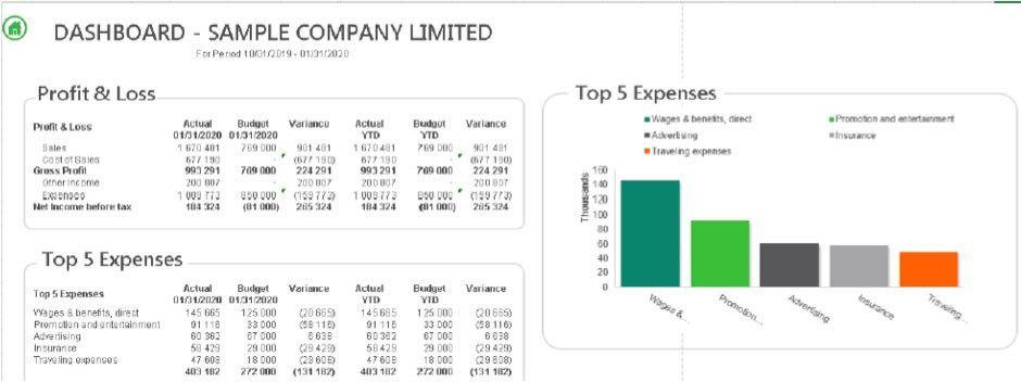 Sage Intelligence – 5 Standard Report Examples - Tandem ...