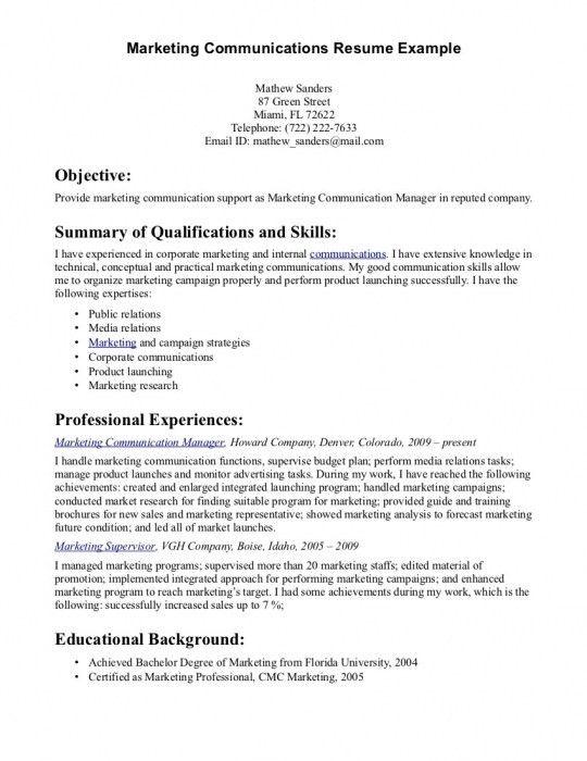 The Most Stylish Communication Skills For Resume | Resume Format Web