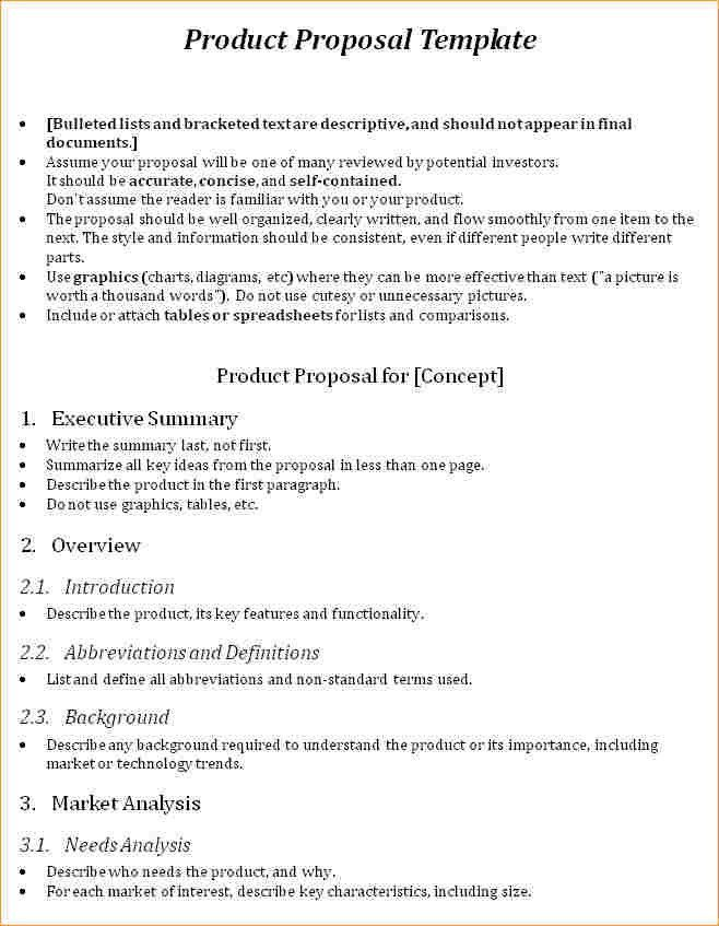 Product proposal template - Business Proposal Templated - Business ...