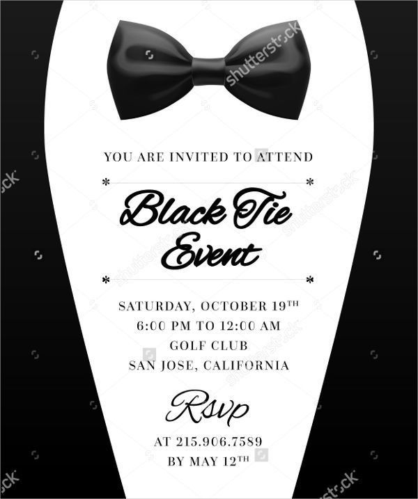 7+ Formal Email Invitation Templates - Design, Templates | Free ...