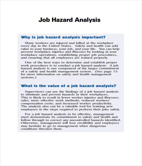 Analysis Templates - 21+ Free Word, PDF Documents Download