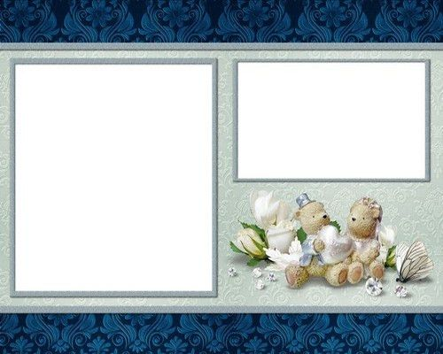 Free Wedding photo album png + psd templates for decoration ...
