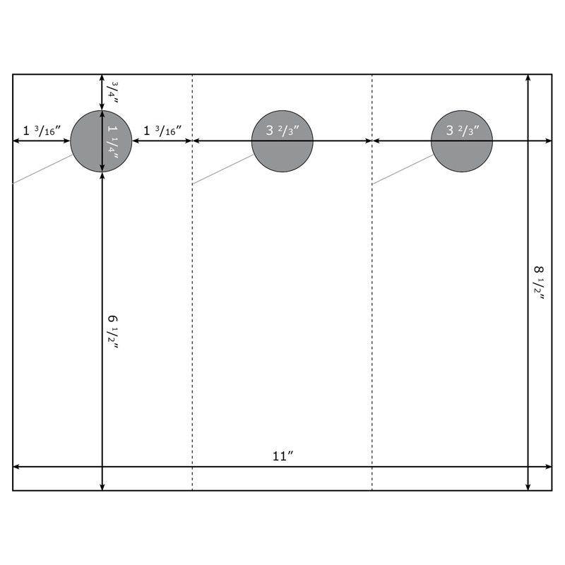 Blank Glossy Door Hangers | Printable Glossy Door Hangers