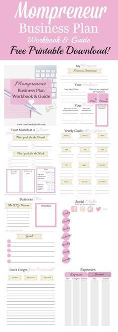 Get your {FREE!} Lady Boss Business Plan Workbook to help you ...