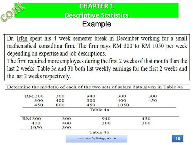 Das20502 chapter 1 descriptive statistics