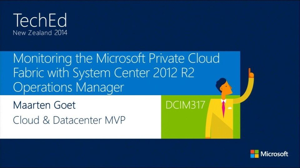 Monitoring the Microsoft Private Cloud Fabric with System Center ...