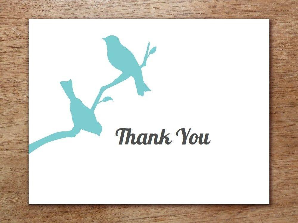 Thank You Card Template | ebook