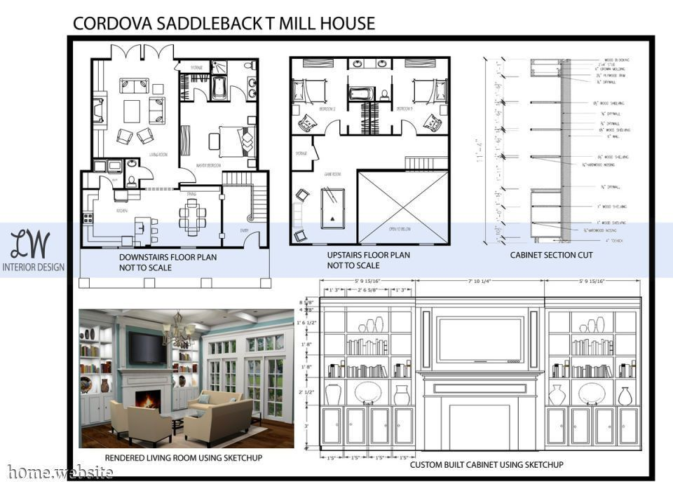 Interior Design Portfolio | brucall.com