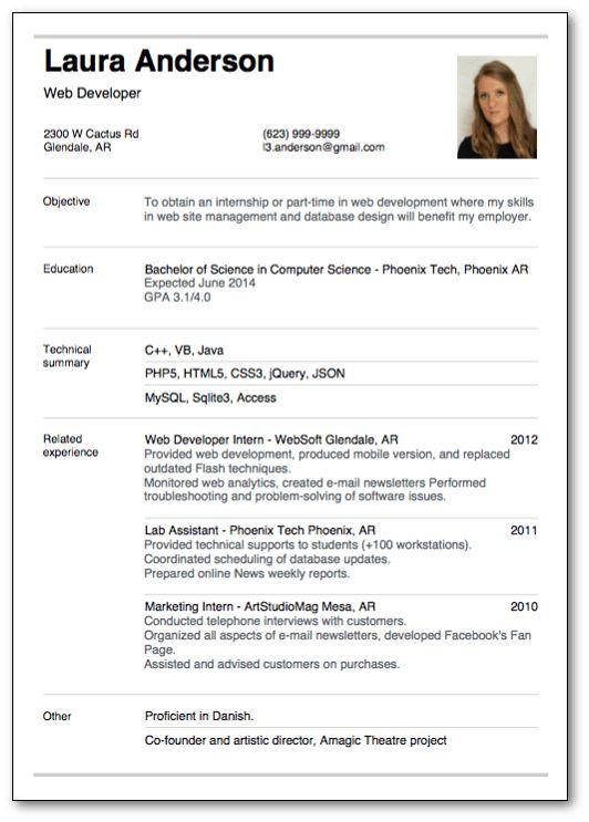 top 10 resume template