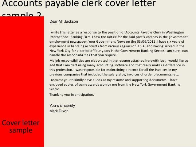 Brilliant Ideas of Accounts Payable Manager Cover Letter Examples ...