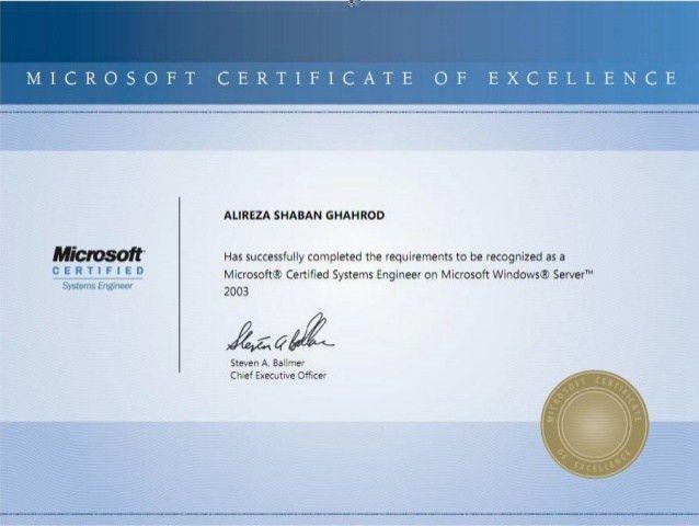 Alireza Ghahrood - My All Certificates 2003-2014