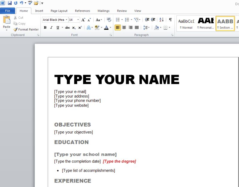 Download Help Me Make A Resume | haadyaooverbayresort.com