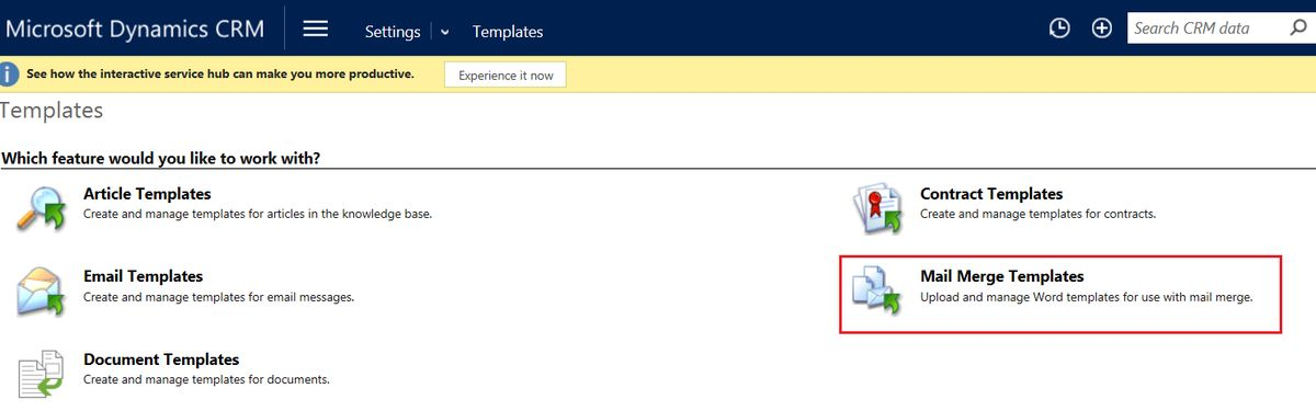 Creating a Quote Template Using Mail Merge in Dynamics CRM ...