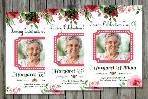11+ Funeral Card Templates - Free PSD, AI, EPS Format Download ...