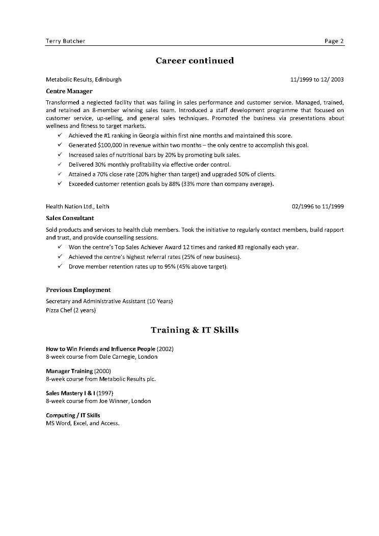 Resume Examples. Best 10 pictures and images good detailed ...