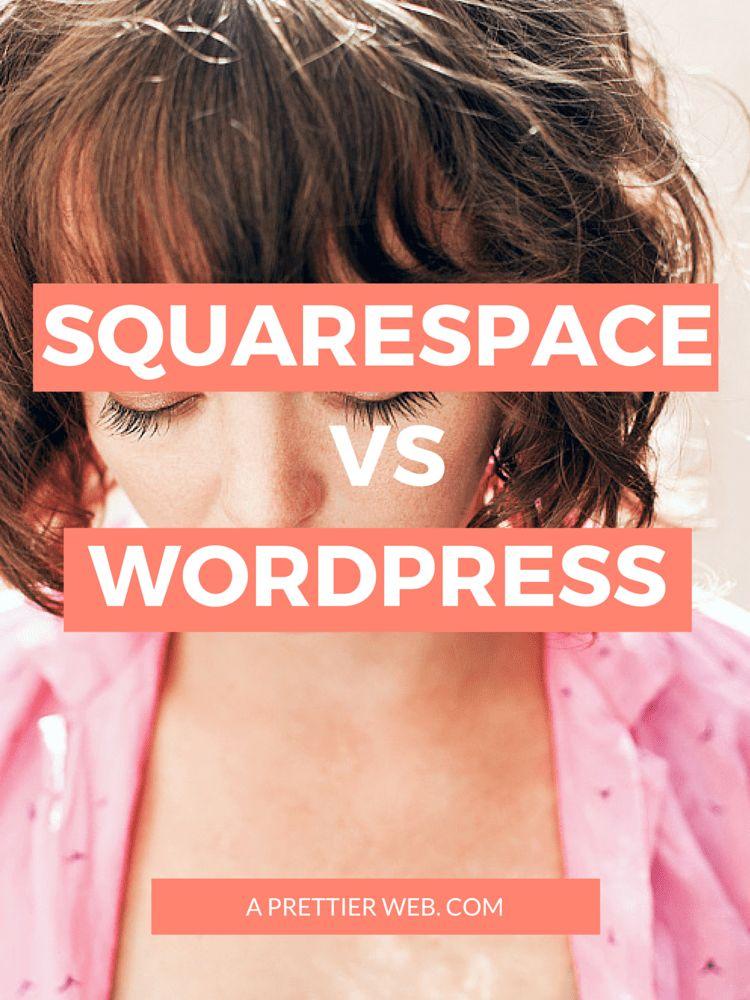 Squarespace vs WordPress - An In-Depth Comparison - A Prettier Web