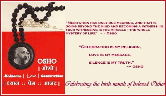 Osho : LOVE-MEDITATION-CELEBRATION - Google+