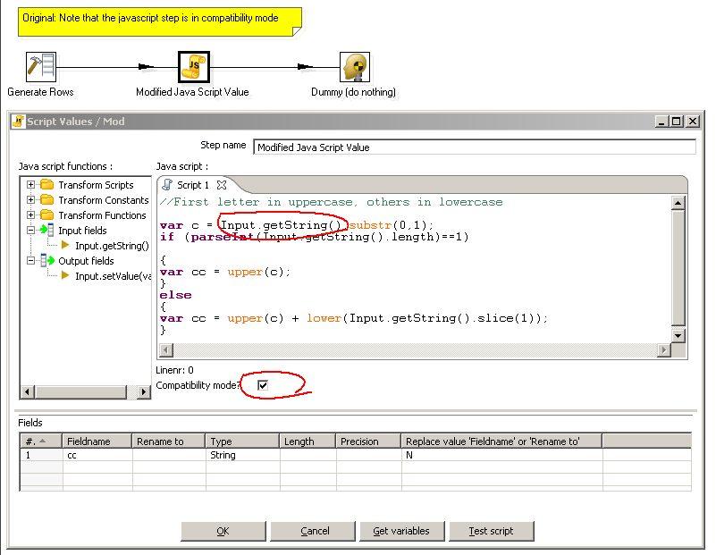 Roland Bouman's blog: Pentaho Data Integration: Javascript Step ...