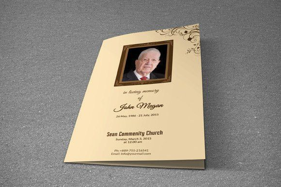 At Wisteriapress site you can prepare printable #funeral #program ...