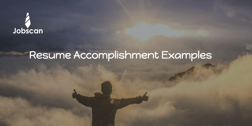 10 Resume Accomplishment Samples