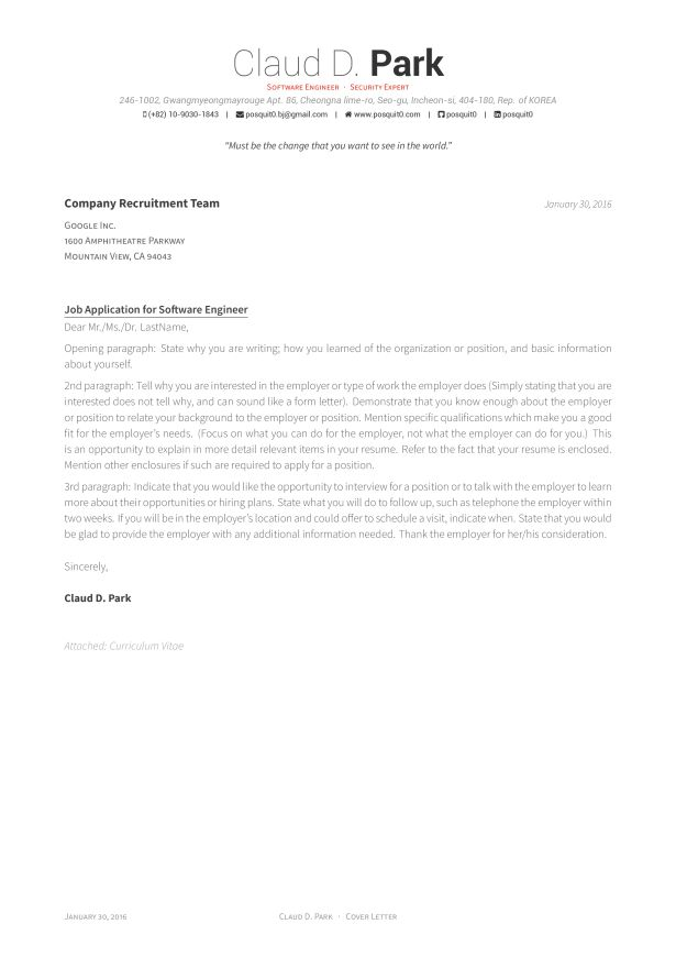 Curriculum Vitae : Downloader With Resume Front Letter Format ...