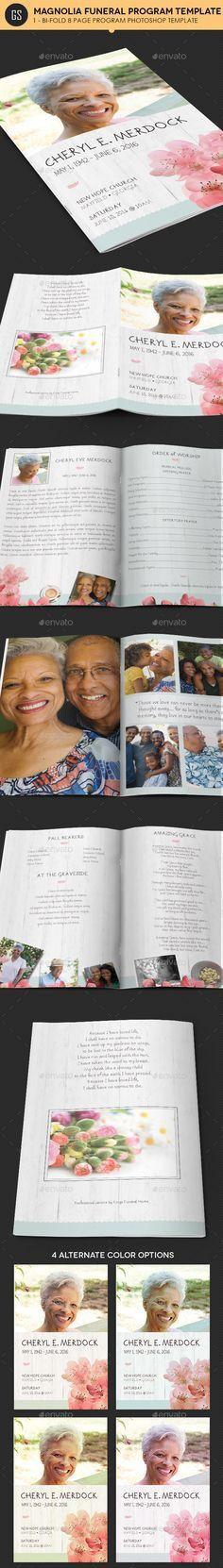 Downloadable Funeral Bulletin Covers | Free Funeral Program ...