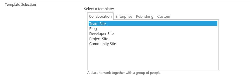 SharePoint Solutions Tips: Brief description about Site templates ...