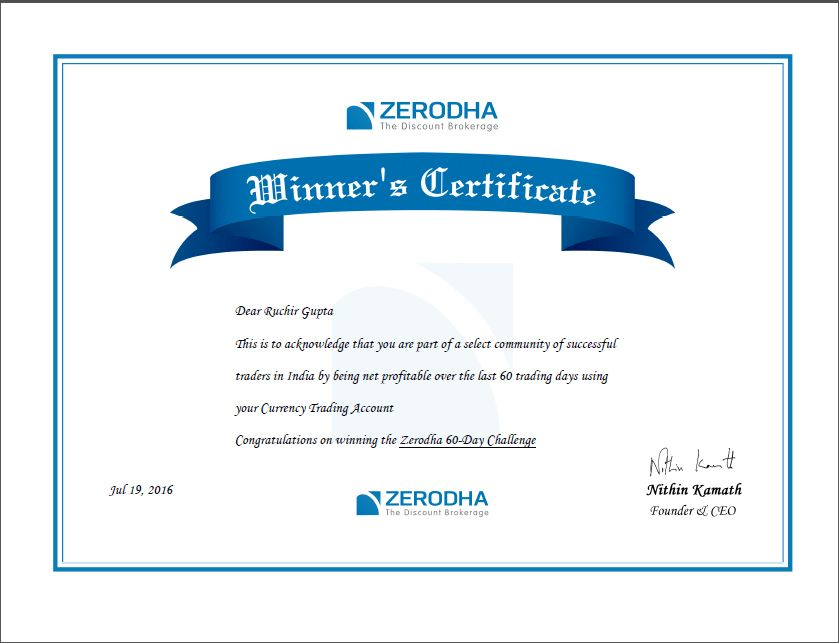 Winning Certificates