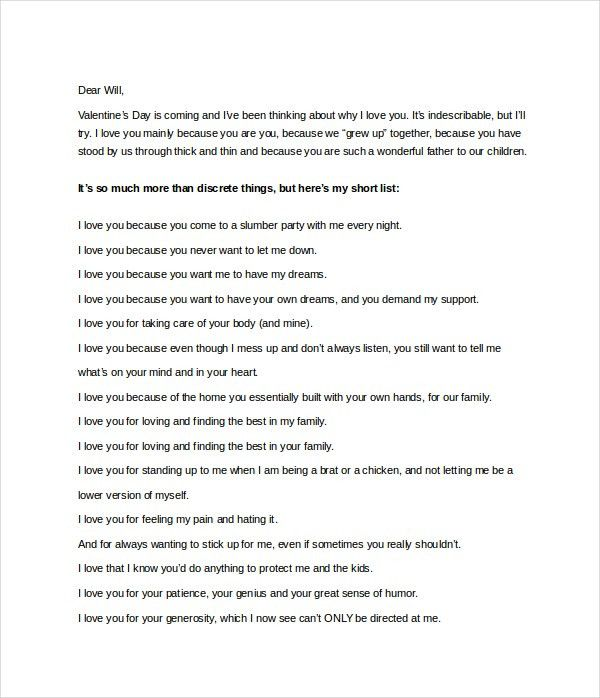 Love Letter To Husband. Apology Love Letter Pdf Sample Apology ...