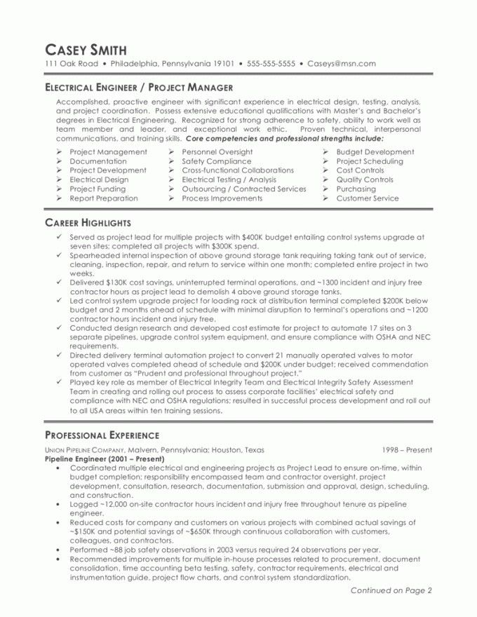 The Perfect Resume Format. Great Resume Format Good Resume ...