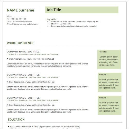 12 best Resumes images on Pinterest | Resume templates, Cv ...